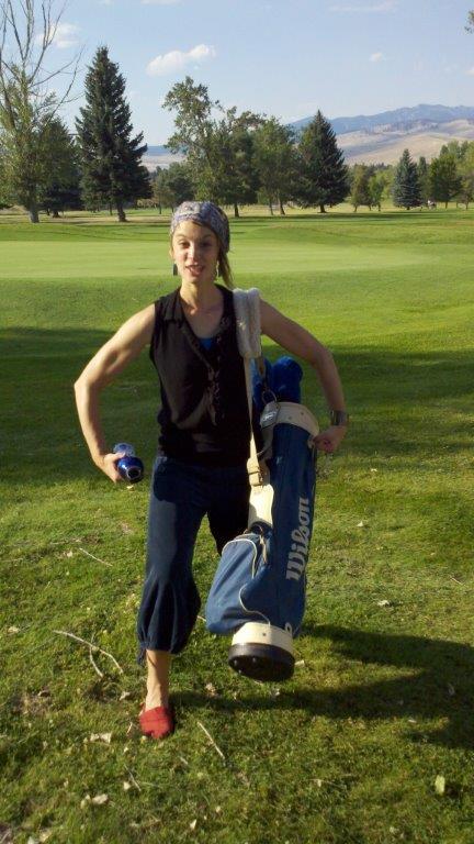 Aggressive Golfer