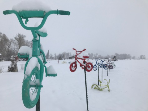 Bikes Snow 2