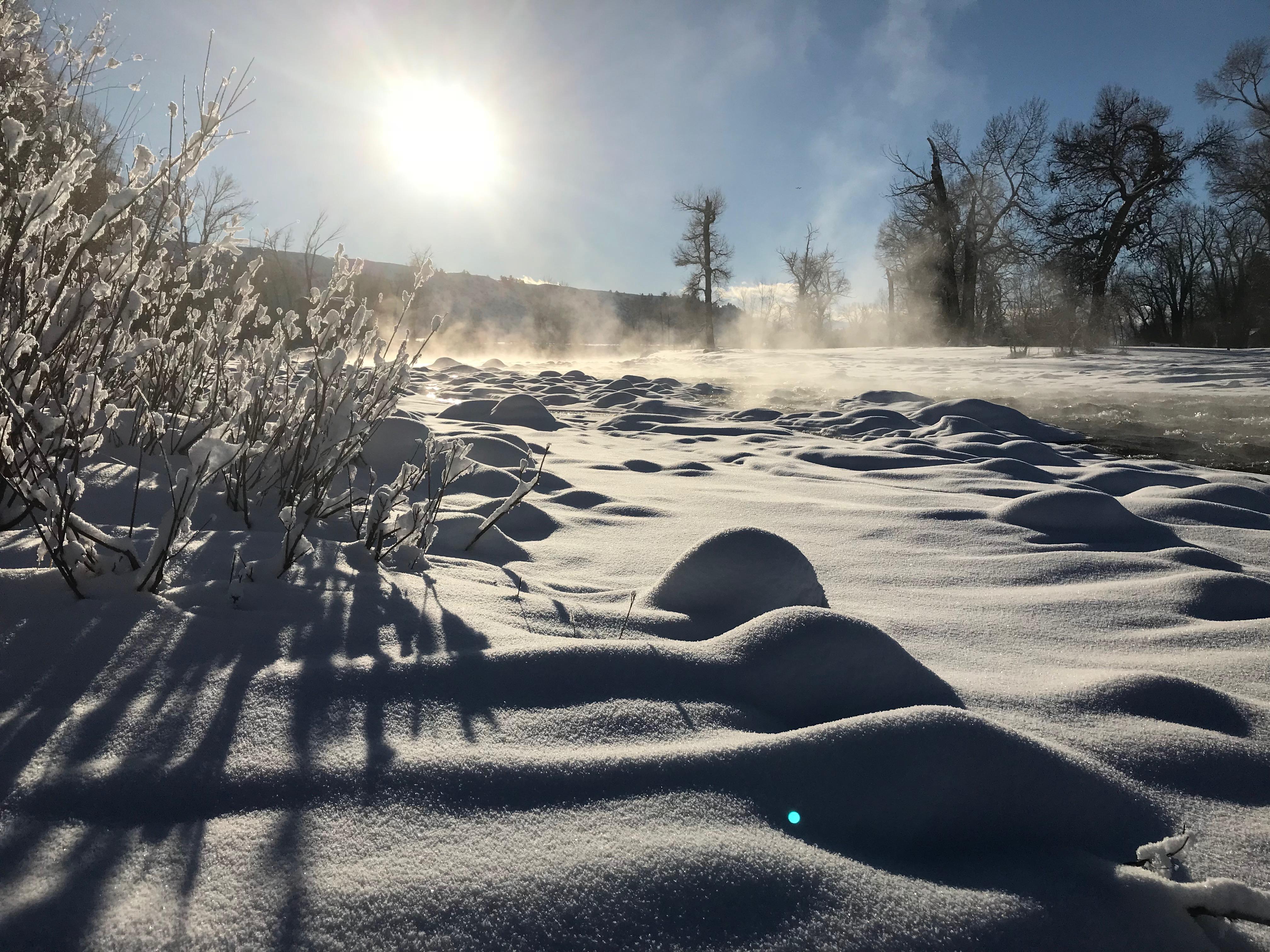 Evening Snow Absarokee