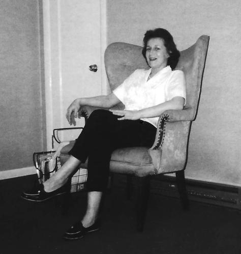 Mom in Chair