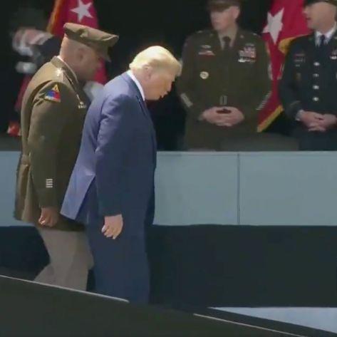 Trump on Ramp